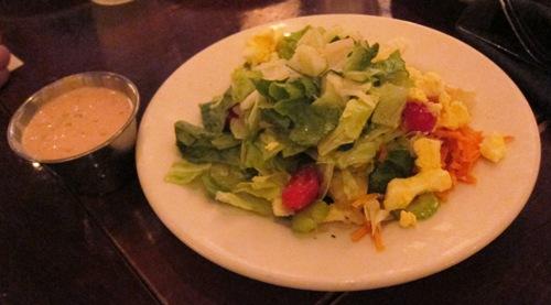 wildfire house salad