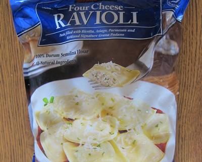 kirkland 4 cheese ravioli costco package