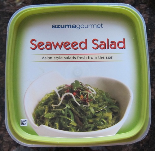 azumagourmet seaweed salad from Costco
