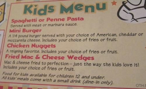 lou malnati's kids menu