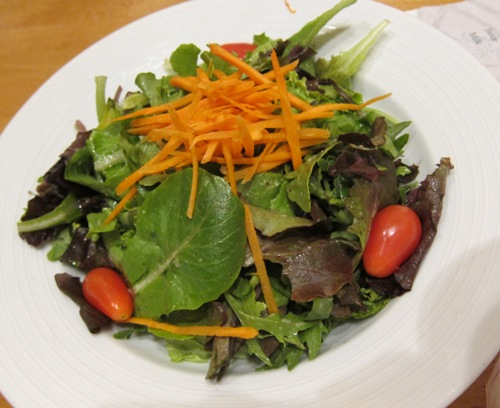 pinstripes house salad