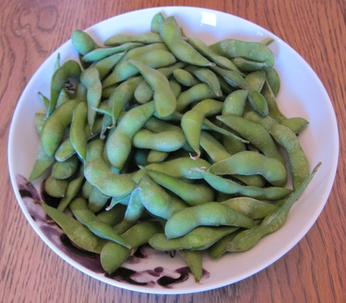edamame in a bowl