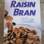 costco kirkland raisin bran package