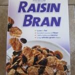 costco kirkland raisin bran package