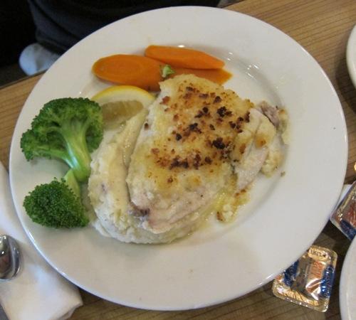 omega restaurant fish dinner