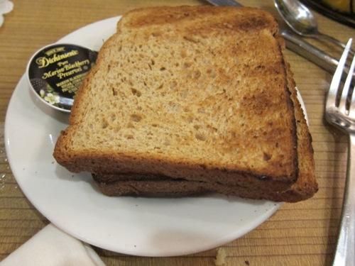 omega restaurant  toast
