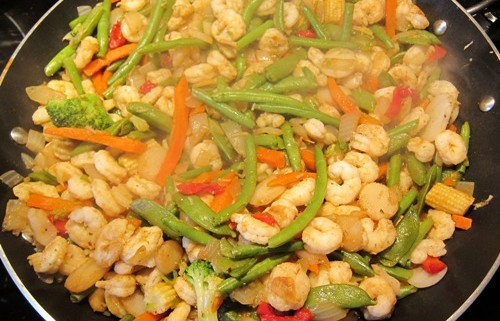 Shrimp Stir Fry Recipe With Frozen Vegetables