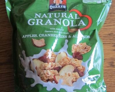 quaker natural granola costco