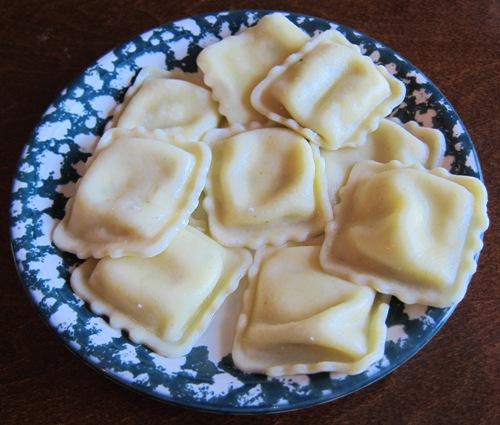 kirkland four cheese ravioli cooked