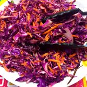 Red Cabbage Cole Slaw