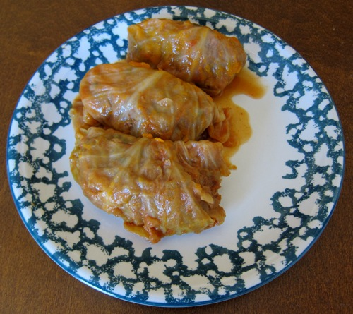 Golubtsy Stuffed Cabbage Rolls Recipe