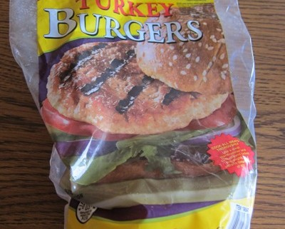 costco kirkland frozen turkey burger patties package