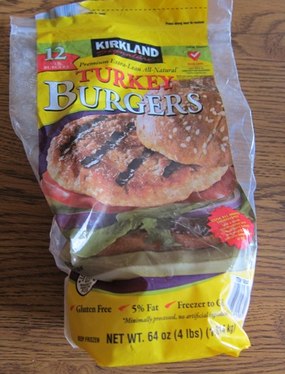 Healthy frozen turkey burgers from costco melanie cooks costco kirkland frozen turkey burger patties package ccuart Gallery