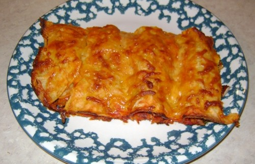 How To Make Mexican Cheese Enchiladas