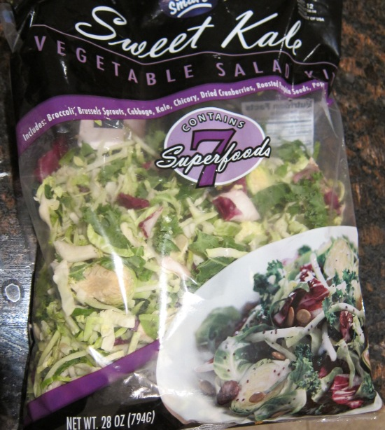 Sweet Kale Vegetable Salad Kit From Costco – Melanie Cooks