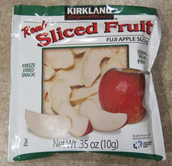 kirkland freeze dried apple slices