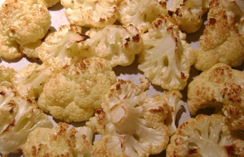 roasted cauliflower recipe picture