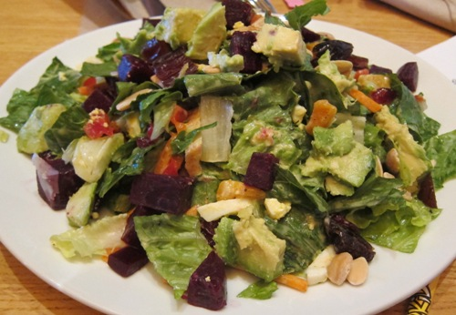 moroccan spiced salad from california pizza kitchen