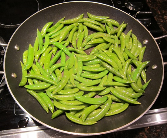 garlic stir fried sugar snap peas recipe