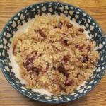 how to make quinoa with dried cranberries