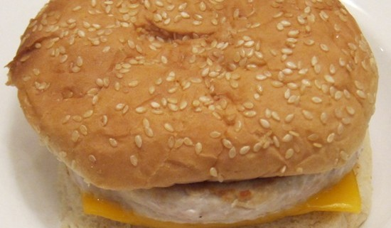 turkey cheeseburger picture