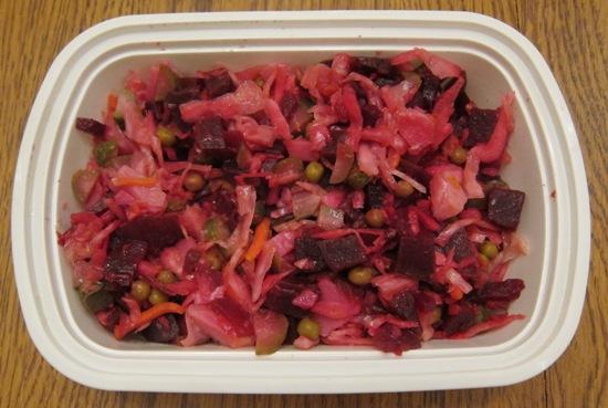 russian beet salad vinegret recipe