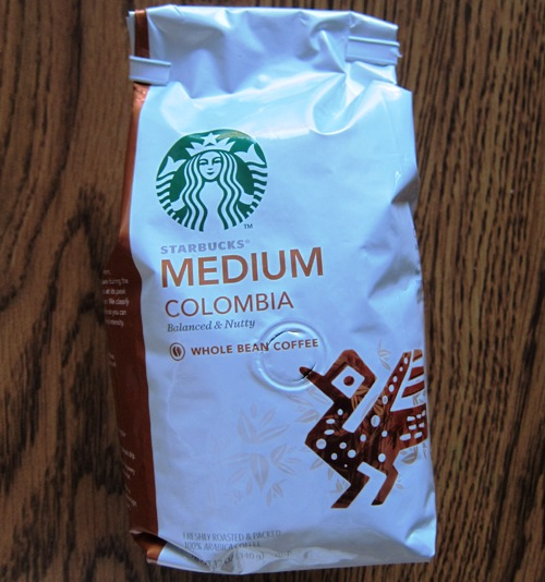 starbucks colombia medium roast coffee