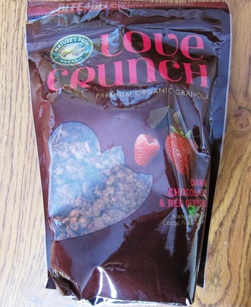 love crunch organic granola