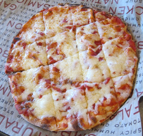 roti kids menu cheese pizza