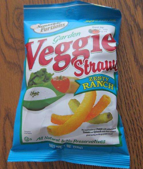 garden veggie straws zesty ranch flavor