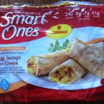 weight watchers smart ones egg sausage cheese morning wrap package