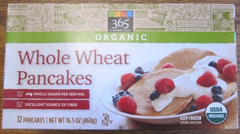 whole foods whole wheat pancakes