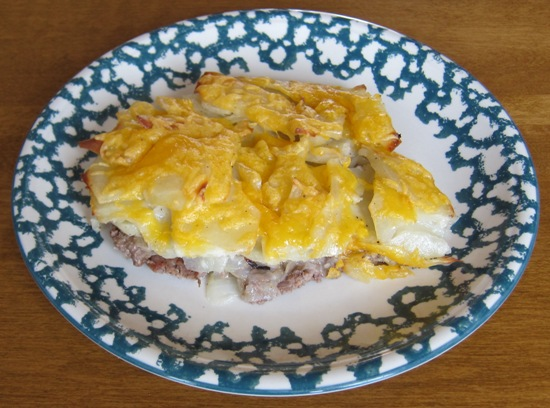 One Dish Meat And Potato Bake