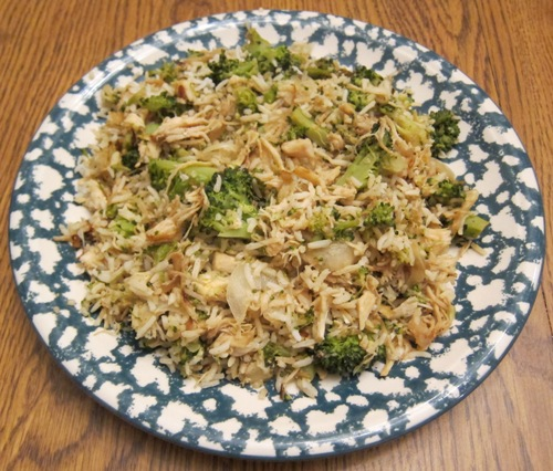 chicken broccoli fried rice recipe