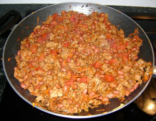 Chili con carne recipe with ground beef or turkey for What can you cook with ground beef