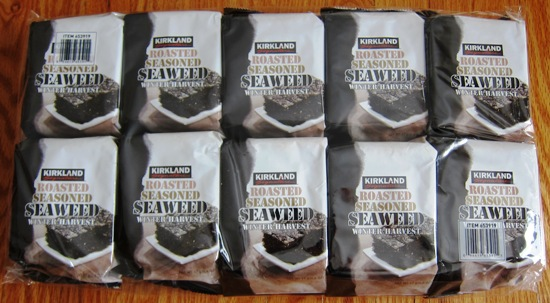 kirkland roasted seaweed snacks costco. Kirkland Roasted Seaweed   Dried Seaweed Snacks From Costco