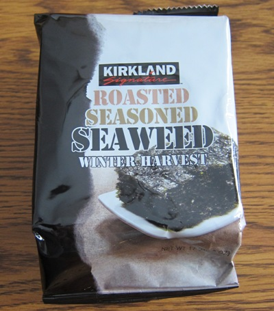 kirkland roasted seaweed snacks costco
