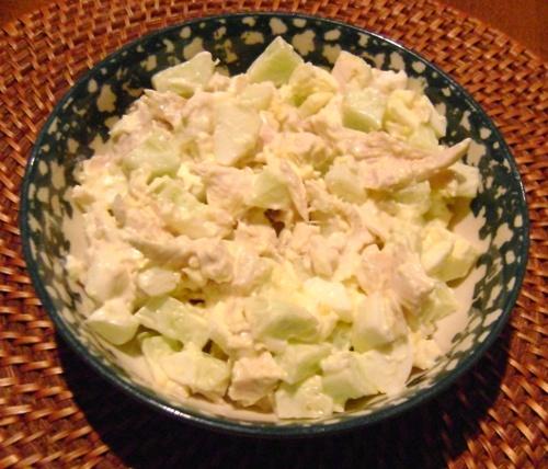 cucumber chicken salad recipe