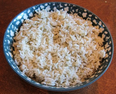 how to make dill rice recipe