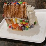 how to make a gingerbread house from milk carton