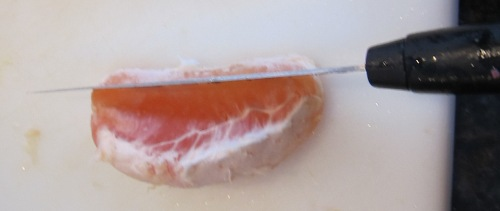 how to cut a grapefruit segment