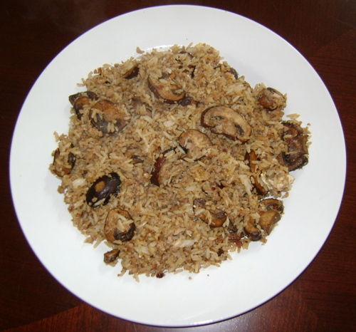 Mushroom Rice Recipe With Ground Beef Or Turkey Melanie