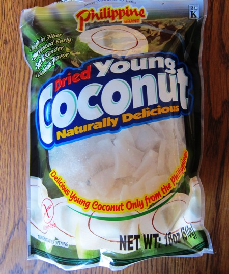 philippine dried coconut