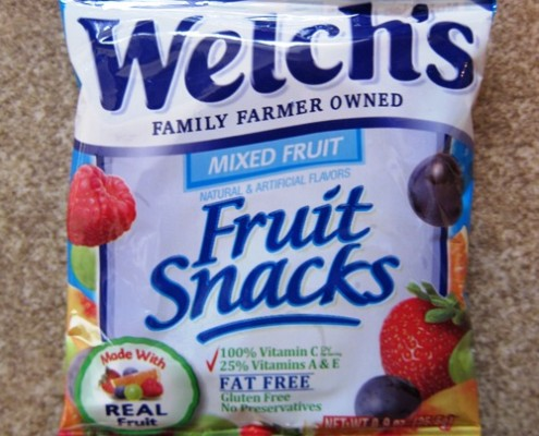welch's fruit snacks package