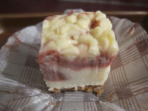 korean cheesecake slice