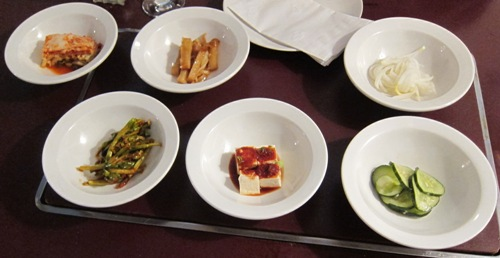 korean restaurant side dishes appetizers