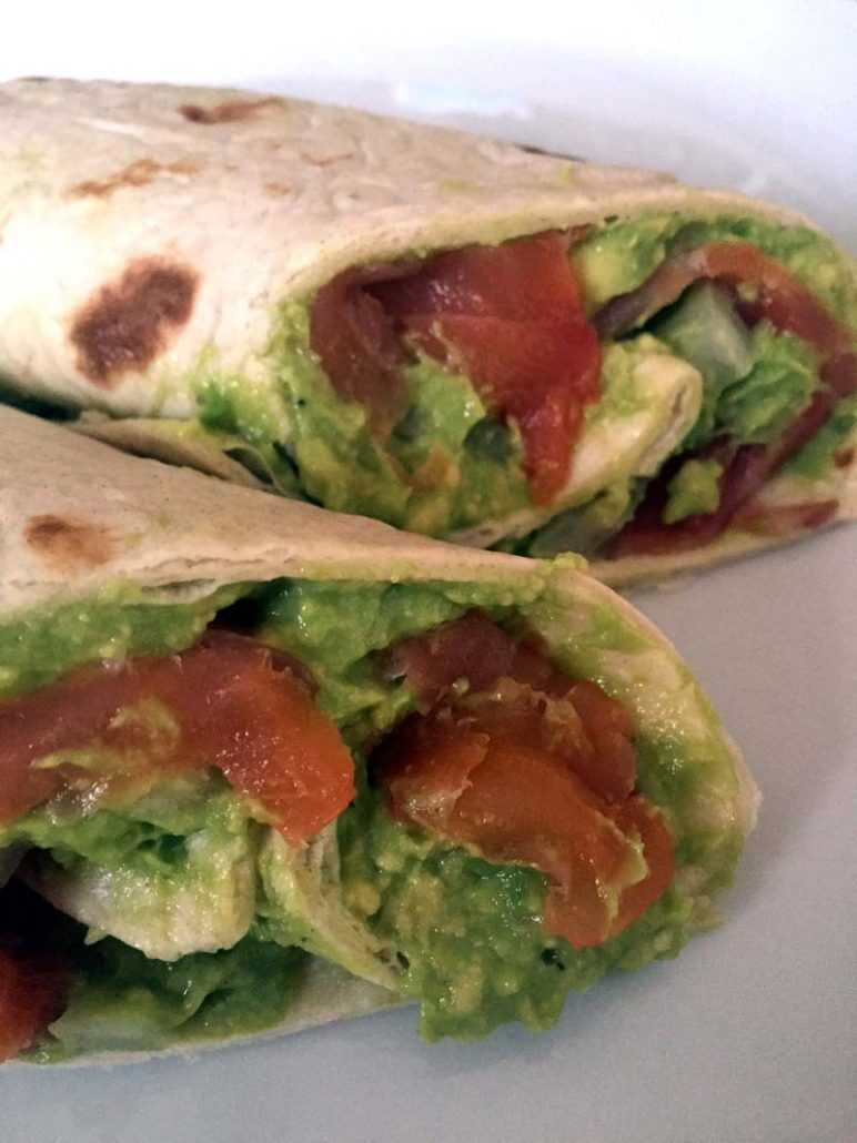 Easy Smoked Salmon And Avocado Wrap Recipe