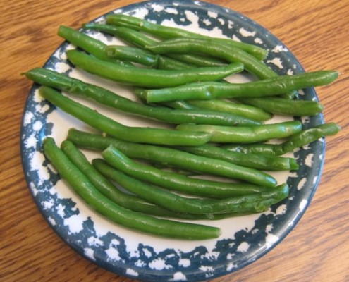 how to make garlic green beans recipe