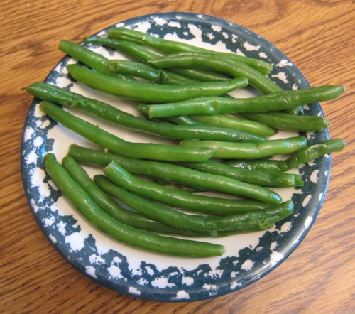 how to make garlic green beans recipe