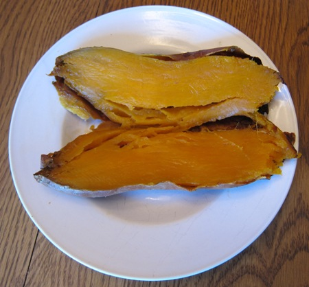 oven baked sweet potato recipe